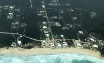 The category 5 storm caused havoc on Abaco Island.