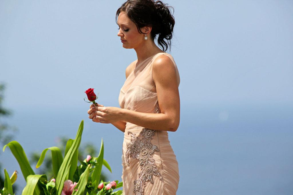 "In the dramatic second part of the Season Finale, Desiree Hartsock gave her final rose on ""The Bachelorette."""