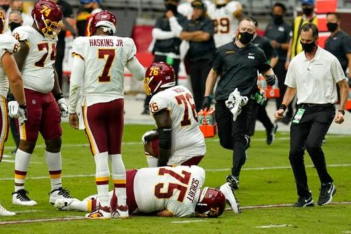 Washington Guard Brandon Scherff Heads To IR With Hurt Knee
