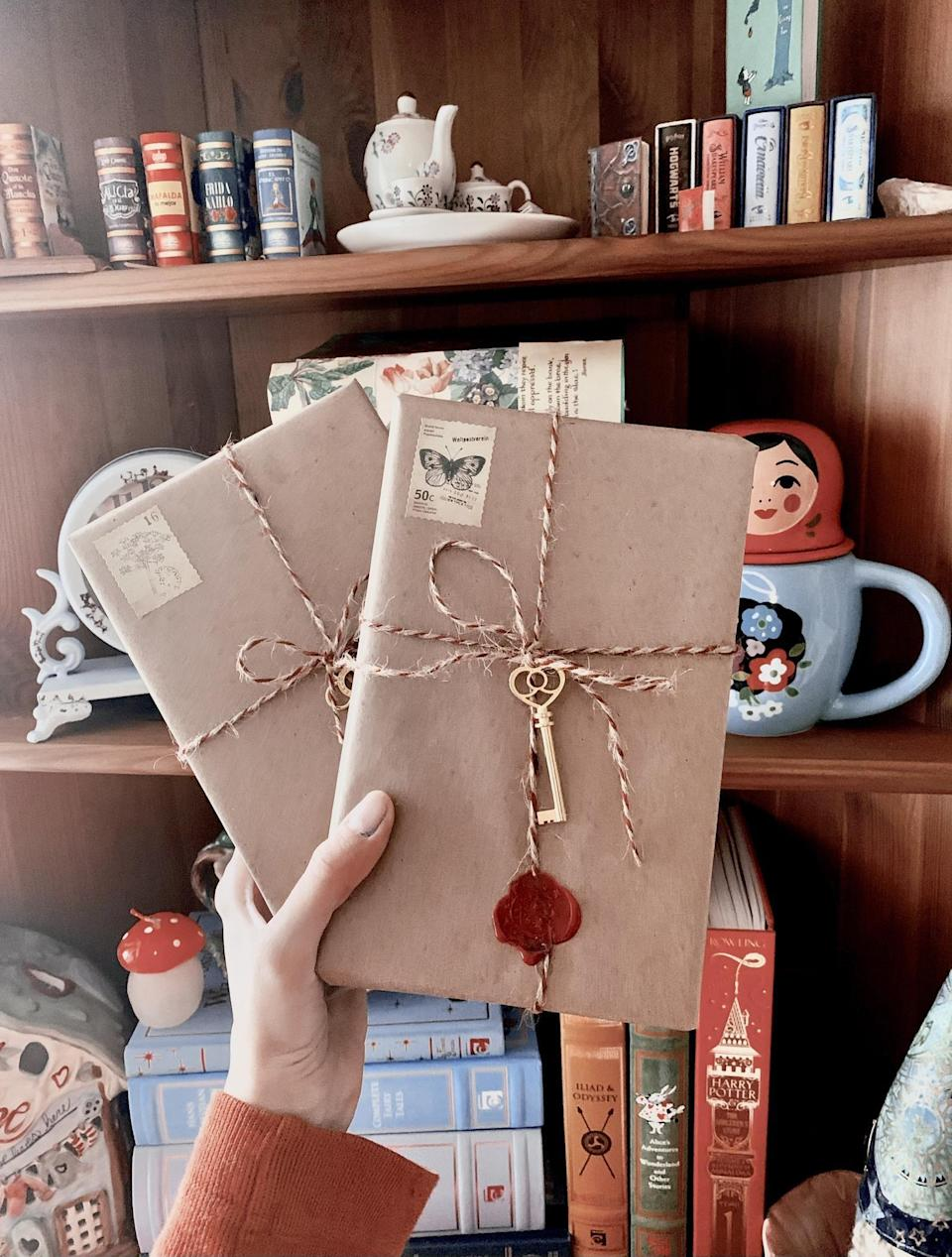 <p>Surprise them with a <span>Blind Date With a Book</span> ($11) - you can pick the genre or have it be a mystery!</p>