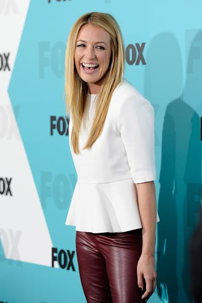"""FILE - This May 14, 2012 file photo shows Cat Deeley, host of """"The Choice"""" and """"So You Think You Can Dance"""" at the FOX network upfront presentation party at Wollman Rink in New York. """"The Choice,"""" premiering Thursday at 9 p.m. EST on Fox, essentially pairs real people with celebrities. (AP Photo/Evan Agostini, file)"""