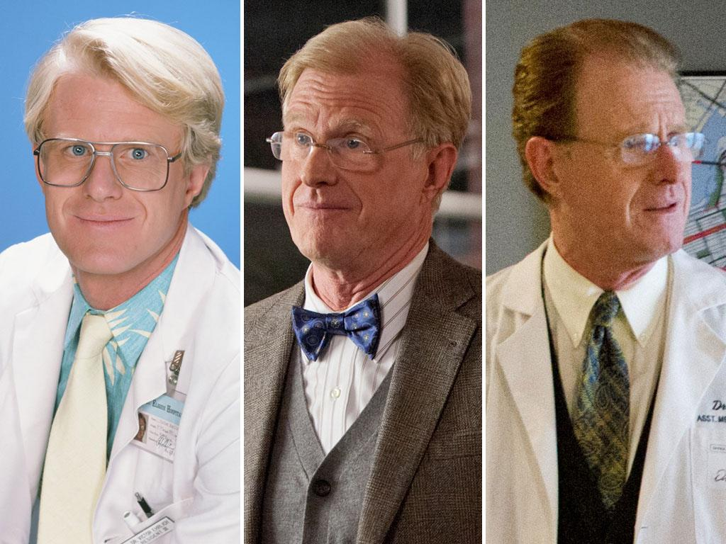 """17. """"St. Elsewhere"""" was a training ground for many of the actors who went on to work in the medical field on other TV series. Ed Begley Jr. <a href=""""http://www.imdb.com/name/nm0000893/"""">played a doctor</a> almost 20 more times, including his most recent turns as Dr. Van Waal on """"Common Law"""" and Dr. T. Pike on """"Rizzoli & Isles."""" William Daniels is currently playing <a href=""""http://www.imdb.com/name/nm0200122/"""">Dr. Thomas</a>, Sandra Oh's new superior in her new position at the Mayo Clinic on """"Grey's Anatomy."""""""