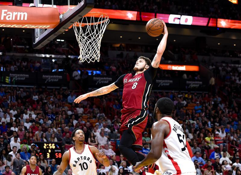 Le Heat dans le Top 8, Wall porte Washington
