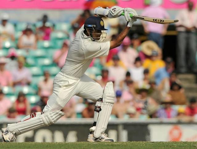 India's Rahul Dravid, seen here batting against Australia at Sydney, believes Test batting is more thrilling than ever thanks to Twenty-20 smash-and-wallop fests (AFP Photo/Greg WOOD)