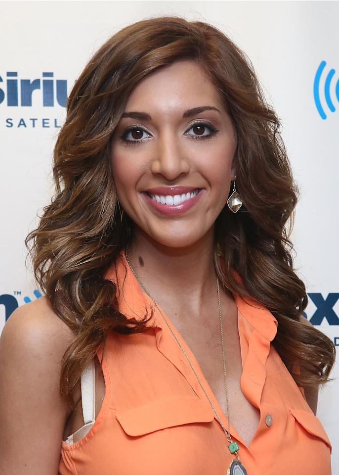 NEW YORK, NY - JUNE 12:  Farrah Abraham, 'Teen Mom' reality star visits the SiriusXM Studios on June 12, 2013 in New York City.  (Photo by Astrid Stawiarz/Getty Images)