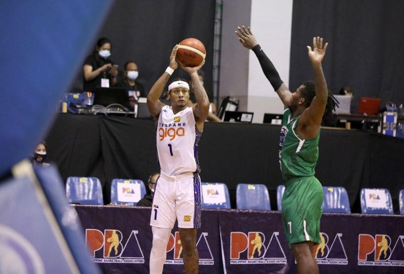 TNT Tropang Giga moves to 2-0 with win over Terrafirma