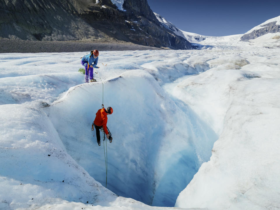 athabasca glacier Credit: Alex Ratson. Moment. Getty Images