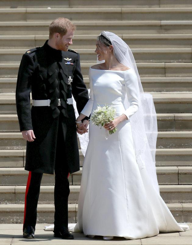 Neither Samantha nor Thomas were present at the royal wedding in May