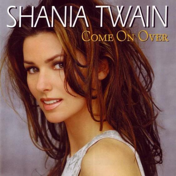Artwork for the international version of 'Come On Over'