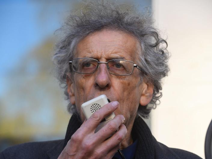 Piers Corbyn is facing charges after breaching the Covid lockdown last year during a protestPA