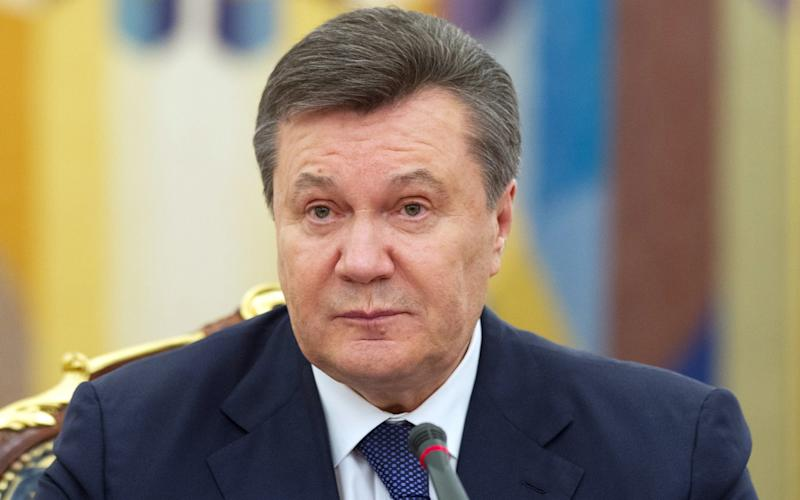 Former Ukrainian president Viktor Yanukovych was ousted by a pro-European revolution in 2014