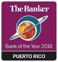 """Financial Times' The Banker Magazine Recognizes Banco Popular De Puerto Rico as a Leading """"Bank of the Year Americas"""" for the Fifth Consecutive Year"""