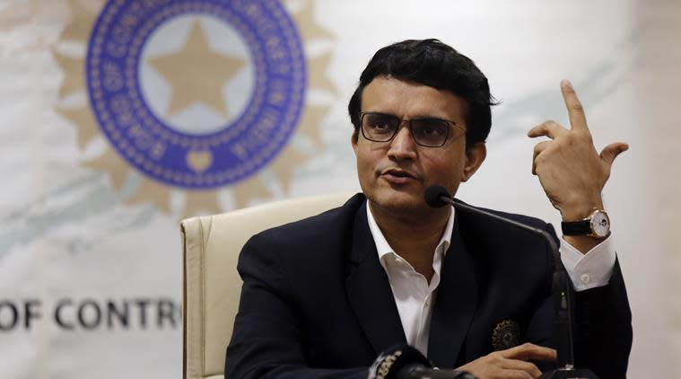 Sourav Ganguly. (Source: AP Photo)