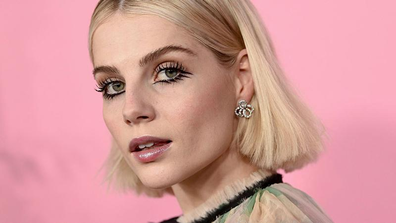 Hands Down, No One is Doing Red Carpet Makeup Better Than Lucy Boynton
