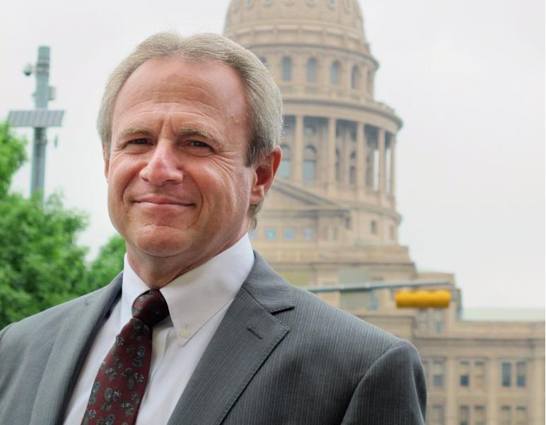 FILE - In this March 29, 2012 file photo, Michael Morton poses for a photo in Austin, Texas. Morton is one of more than 2,000 people falsely convicted of a serious crime who have been exonerated in the United States in the past 23 years, according to a new national registry, or database, painstakingly assembled by the University of Michigan Law School and the Center on Wrongful Convictions at Northwestern University School of Law. It is the most complete list of exonerations ever compiled. (AP Photo/Will Weissert, File)