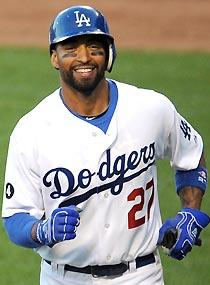 Getting back to focusing on baseball has put a smile back on Matt Kemp's face