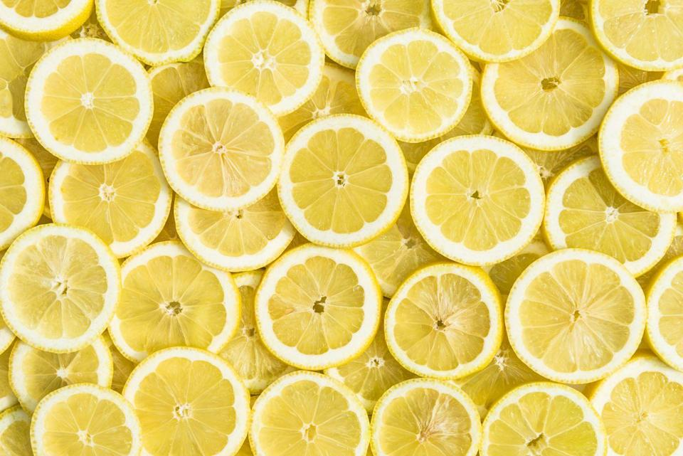 """<p>Lemons are high in vitamin C, folate, potassium and flavonoids. Flavonoids have been linked to reducing your risk of <a href=""""https://www.goodhousekeeping.com/health/diet-nutrition/g1370/foods-that-boost-brain-health/"""" rel=""""nofollow noopener"""" target=""""_blank"""" data-ylk=""""slk:cognitive decline"""" class=""""link rapid-noclick-resp"""">cognitive decline</a> by enhancing circulation and helping to protect brain cells from damage. Lemons add brightness to so many dishes, from savory to <a href=""""https://www.goodhousekeeping.com/food-recipes/dessert/g4195/lemon-desserts/"""" rel=""""nofollow noopener"""" target=""""_blank"""" data-ylk=""""slk:sweet"""" class=""""link rapid-noclick-resp"""">sweet</a>. </p>"""