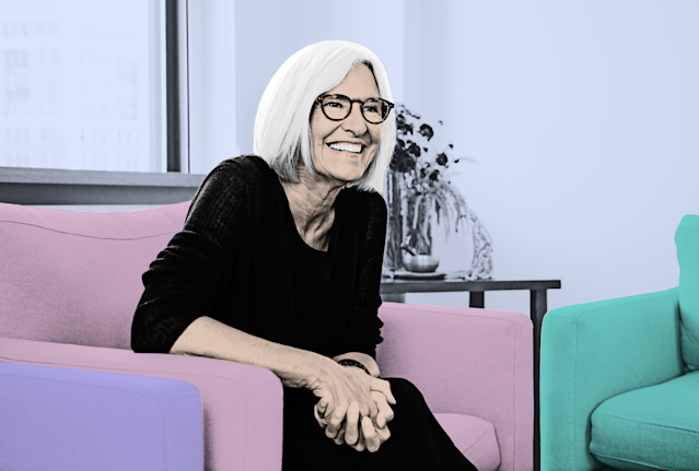 Eileen Fisher (Photo: courtesy of Eileen Fisher; art: Quinn Lemmers)