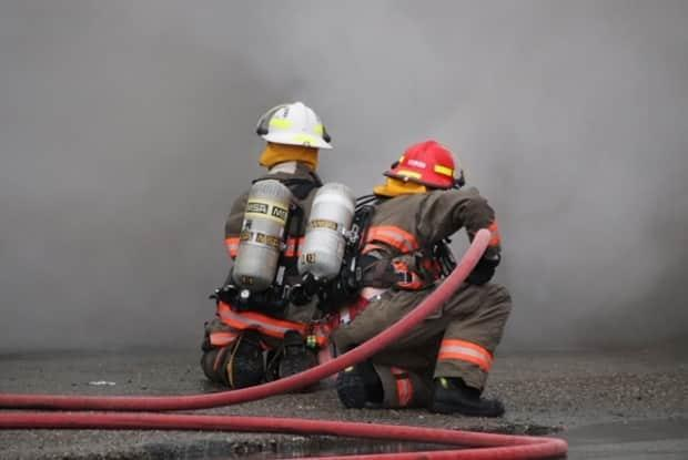 Firefighters in Chilliwack, B.C., are pictured in a file photo from 2019. (Shane McKichan - image credit)