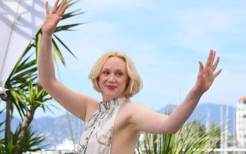 British actress Gwendoline Christie  - Credit:  AFP