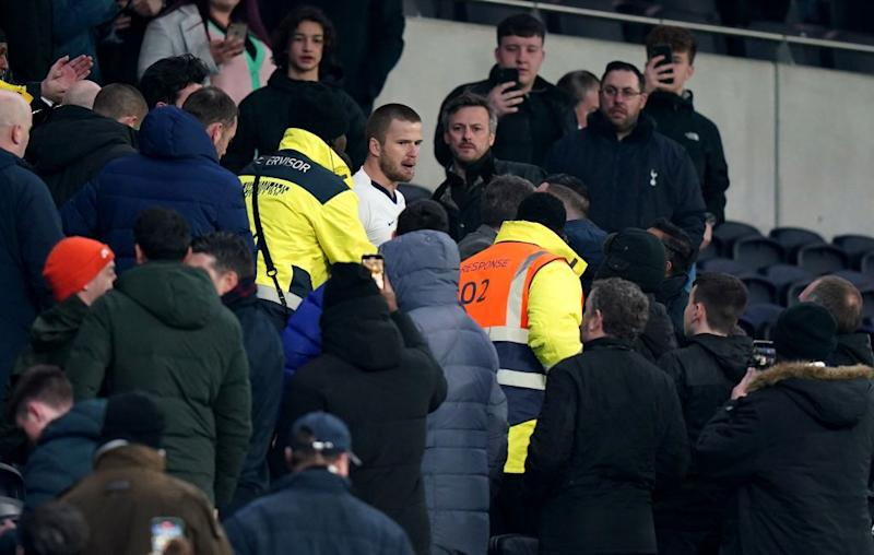 Eric Dier charged with misconduct for entering crowd after Norwich defeat