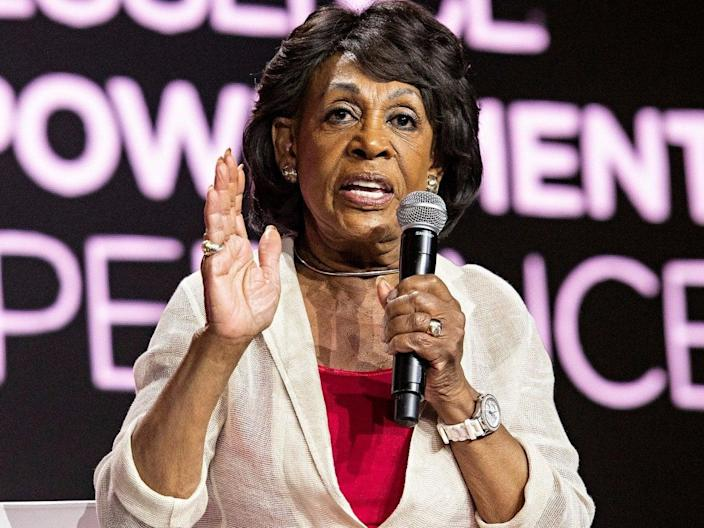 Maxine Waters has called for an investigation into the events on 6 January 2021 on Capitol Hill (AP)