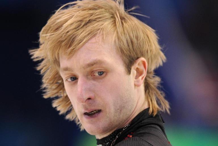 Silver medallist, Russia's Evgeny Plushenko, performs in the Men's Figure skating free program at the Pacific Coliseum in Vancouver during the 2010 Winter Olympics on February 18, 2010