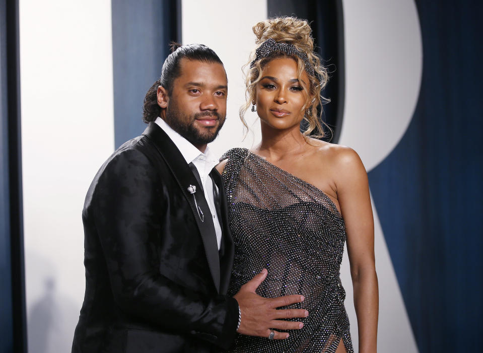 Russell Wilson and Ciara are celebrating the 6-year anniversary of their first meeting. (Photo: REUTERS/Danny Moloshok)