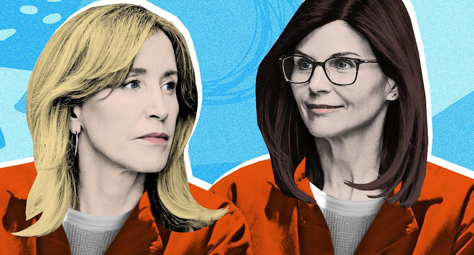 """If Felicity Huffman and Lori Loughlin do in fact serve time for their roles in Operation Varsity Blues, the experience will be """"traumatizing for life,"""" says a former inmate. (Image: Getty Images)"""