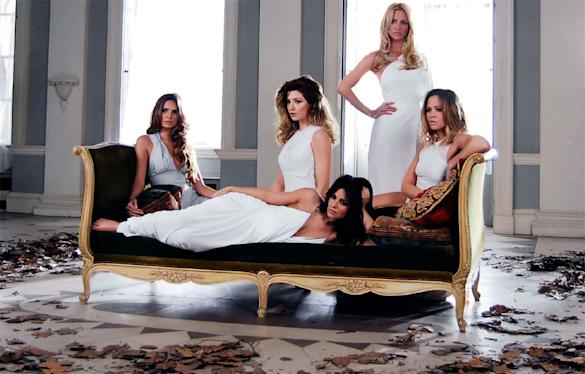 PHOTOS: Girls Aloud Look Sultry In 'Beautiful Cause You Love Me' Teaser Pics