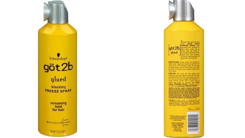 Say goodbye to stray hairs and fly aways with this freeze hold hair spray.
