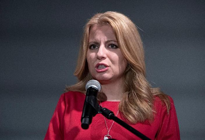 Caputova took her campaign against a landfill project to the highest court in the land, and won (AFP Photo/JOE KLAMAR)