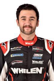 <em>Chase Elliott in his No. 31 Whelen Engineering Action Express Racing firesuit (IMSA).</em>