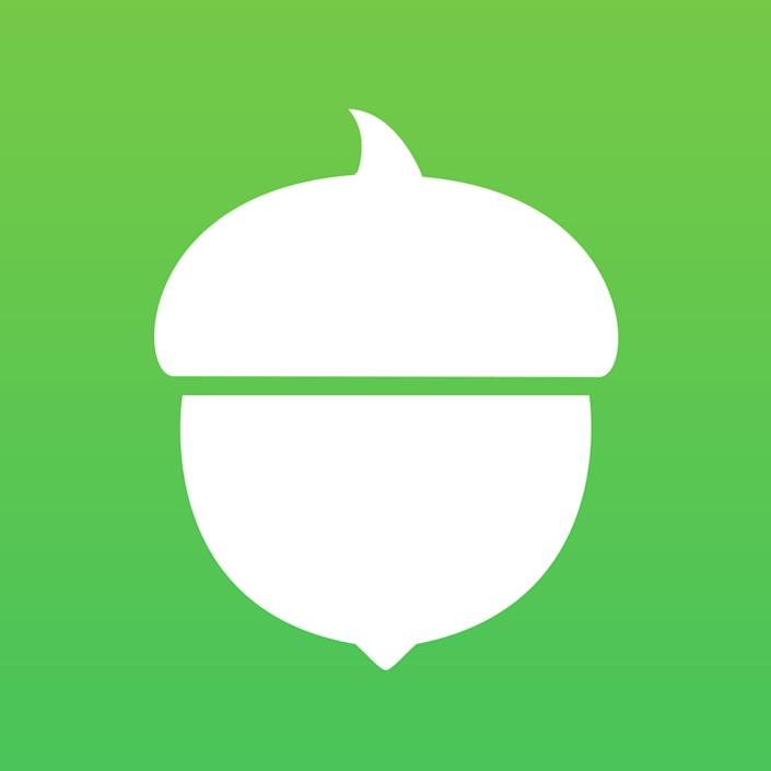"""<strong>What it does:&nbsp;</strong><a href=""""https://www.acorns.com/"""" rel=""""nofollow noopener"""" target=""""_blank"""" data-ylk=""""slk:Acorns"""" class=""""link rapid-noclick-resp"""">Acorns</a>&nbsp;rounds up the cost of your purchases to the nearest dollar and transfers the difference from your checking account into an Acorns account. Then, it invests that money in low-cost exchange traded funds, or ETFs.<br><strong>What it costs:</strong>&nbsp;Free to try, then&nbsp;$1 a month (or 0.25 percent a year for larger accounts); also&nbsp;free for college students and anyone under age 24"""