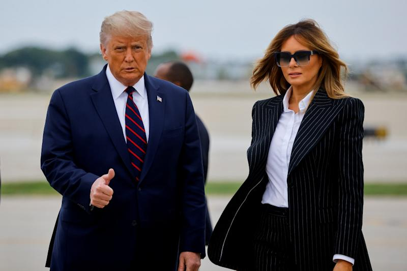 Donald Trump Tests Positive for Covid-19 Along With First Lady Melania Month Before Elections