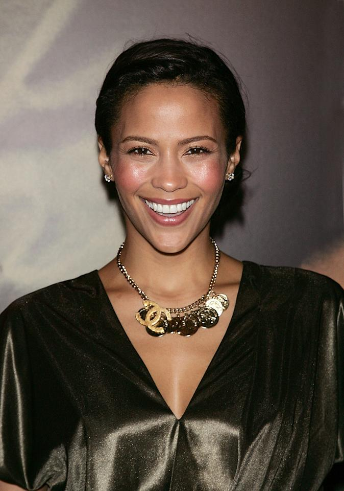 """<a href=""""http://movies.yahoo.com/movie/contributor/1809152346"""">Paula Patton</a> at the New York City premiere of <a href=""""http://movies.yahoo.com/movie/1809947151/info"""">Miracle at St. Anna</a> - 09/22/2008"""