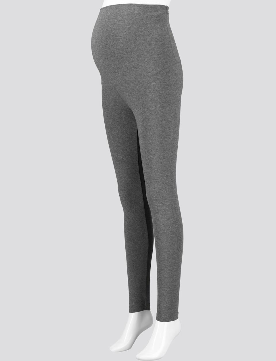 "<h3><a href=""https://www.uniqlo.com/us/en/women-maternity-leggings-online-exclusive-428781.html"" rel=""nofollow noopener"" target=""_blank"" data-ylk=""slk:Uniqlo Maternity Leggings"" class=""link rapid-noclick-resp"">Uniqlo Maternity Leggings</a></h3><br>This one goes out to the mamas — minimal seams and a non-elastic extra-wide waistband for extra comfort throughout your pregnancy. Plus, they're just under $15 so you might want to buy them in both colors!<br><br><strong>Uniqlo</strong> Maternity Leggings, $, available at <a href=""https://go.skimresources.com/?id=30283X879131&url=https%3A%2F%2Fwww.uniqlo.com%2Fus%2Fen%2Fwomen-maternity-leggings-online-exclusive-428781.html"" rel=""nofollow noopener"" target=""_blank"" data-ylk=""slk:Uniqlo"" class=""link rapid-noclick-resp"">Uniqlo</a>"