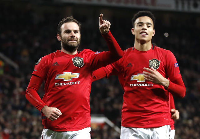 Manchester United secure a thumping 4-0 Europa League win over AZ Alkmaar. (Getty Images)