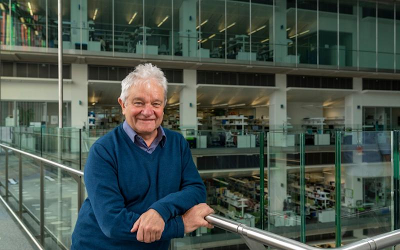 Paul Nurse, the head of the Francis Crick Institute which created a test-and-trace mechanism all of its own - Andrew Crowley/Andrew Crowley