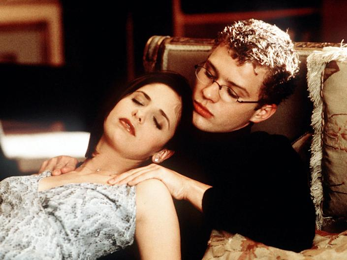 Sarah Michelle Gellar and Ryan Phillippe play sex-obsessed step siblings in 'Cruel Intentions'Rex Features
