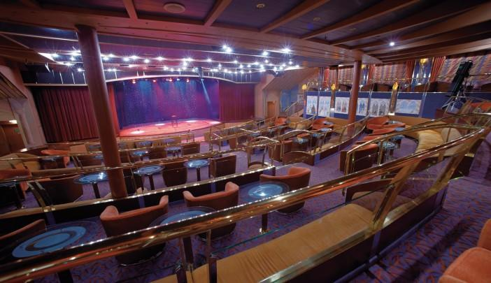 <p>Will anybody perform in the Silver Cloud's show lounge for Team USA? (silversea.com) </p>