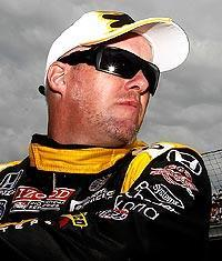 Paul Tracy prepares to qualify for the 95th running of the Indianapolis 500
