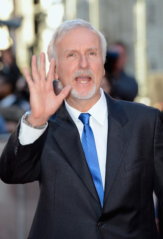 "LONDON, ENGLAND - MARCH 27:  Director James Cameron attends the ""Titanic 3D"" World Premeire at the Royal Albert Hall on March 27, 2012 in London, England.  (Photo by Gareth Cattermole/Getty Images)"