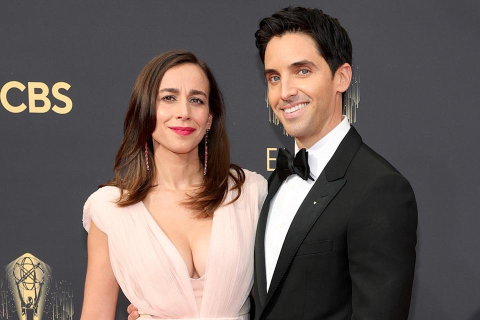 """<p><strong>""""To Paul, I'm in love with you, which is why I married you last weekend.""""</strong></p> <p>— Lucia Aniello, revealing she'd<a href=""""https://people.com/tv/2021-emmy-awards-hacks-co-creators-lucia-aniello-and-paul-w-downs-are-married/"""" rel=""""nofollow noopener"""" target=""""_blank"""" data-ylk=""""slk:tied the knot with partner and Hacks co-creator Paul Downs"""" class=""""link rapid-noclick-resp""""> tied the knot with partner and<em> Hacks</em> co-creator Paul Downs</a>, while accepting the award for outstanding directing for a comedy series</p>"""