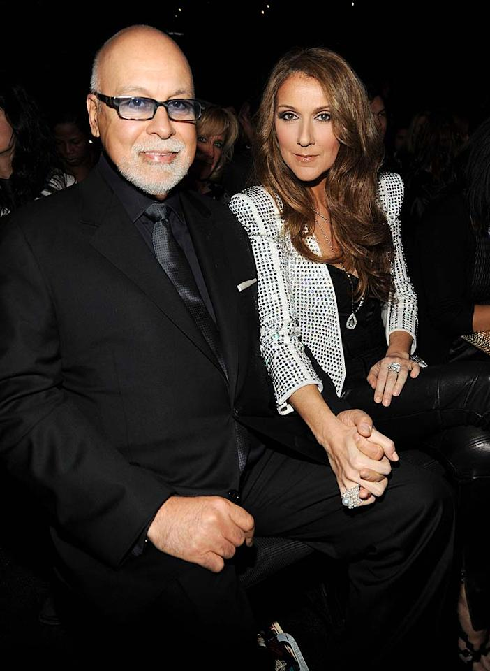 "After years of trying to conceive again, singer Celine Dion and her husband Rene Angeli welcomed fraternal twin boys, Eddy and Nelson, on October 23, and the little ones already have distinct personalities. ""One is more gutsy than the other,"" Dion told <i>Hello!</i>, adding, ""Nelson seems to have a little stronger personality right now. He's the tougher of the two."" The boys have an older brother named Rene-Charles, 9. Kevin Mazur/<a href=""http://www.wireimage.com"" target=""new"">WireImage.com</a> - January 31, 2010"
