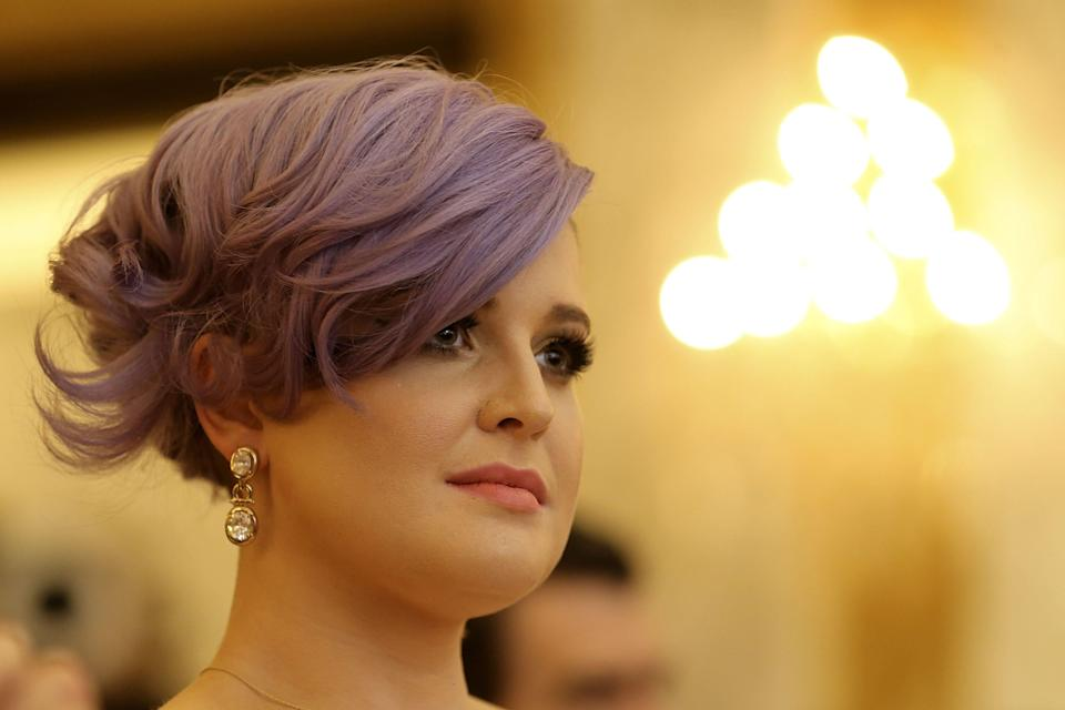 Kelly Osbourne attends the Life Ball 2015 press conference on May 16, 2015 in Vienna, Austria.