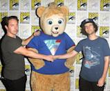 """<p>Beck Bennett, """"Brigsby Bear,"""" and Kyle Mooney at the Sony Pictures Classics Presentation at Comic-Con on July 22, 2017 in San Diego. (Photo: Albert L. Ortega/Getty Images) </p>"""