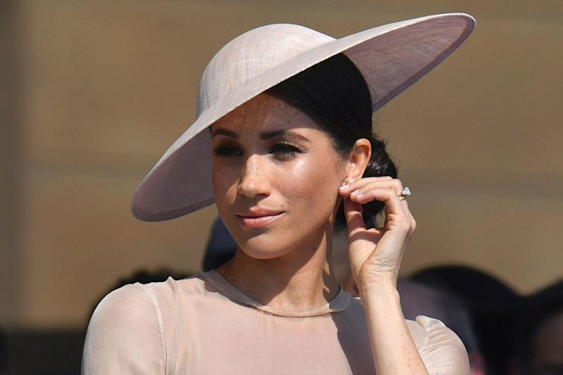 Meghan Markle Gets Trolled for Sporting 'Inappropriate Dress' at Trooping the Colour