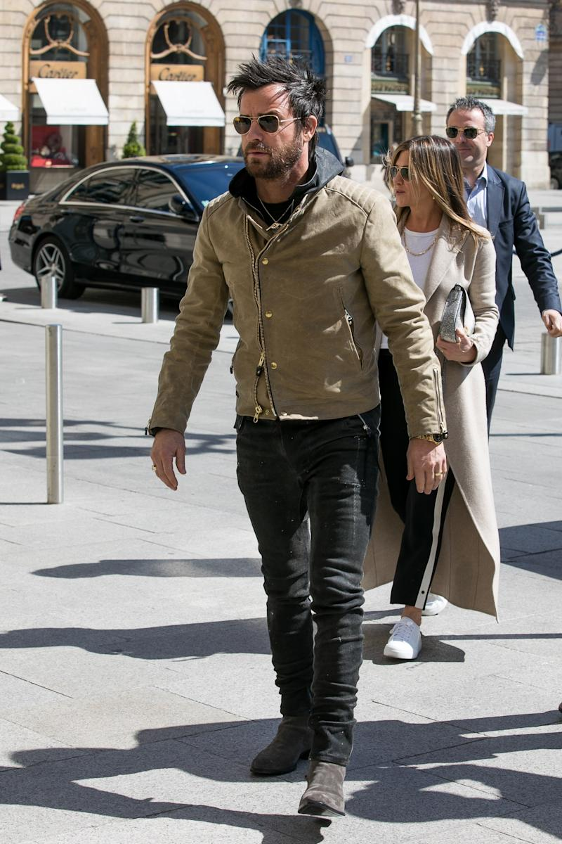 Justin Theroux Is Killing It in Paris Right Now
