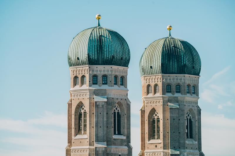Frauenkirche, Cathedral of Our Dear Lady, Munich, Bavaria, Germany
